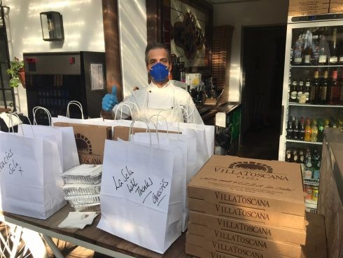 LOCAL RESTAURANT GROUP LA SALA SUPPORTING THE COMMUNITY IN THESE DIFFICULT TIMES