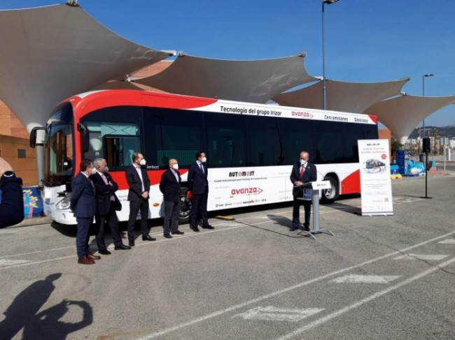 Malaga's First Driverless Bus Set To Hit The Road