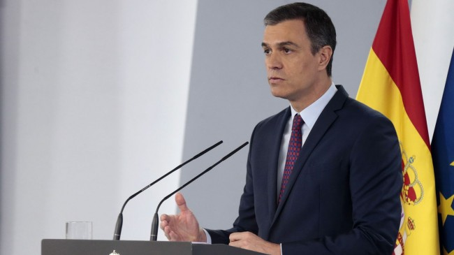 Spanish PM: 'The virus could return and plunge us into a second wave. We have to avoid that at all costs'