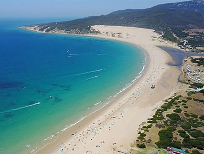 VALDEVAQUEROS BEACH IN ANDALUCIA HAS BEEN CHOSEN BY CONDE NEST TRAVELER AS THE BEST BEACH IN THE WHOLE OF SPAIN